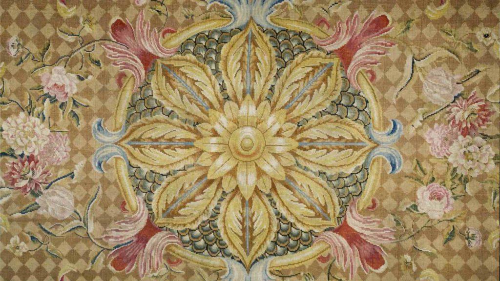 1758 Claude Passavant carpet - Petworth House - Exeter