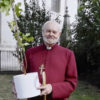 Bishop of London presents Christ Church Spitalfields with a Mulberry tree