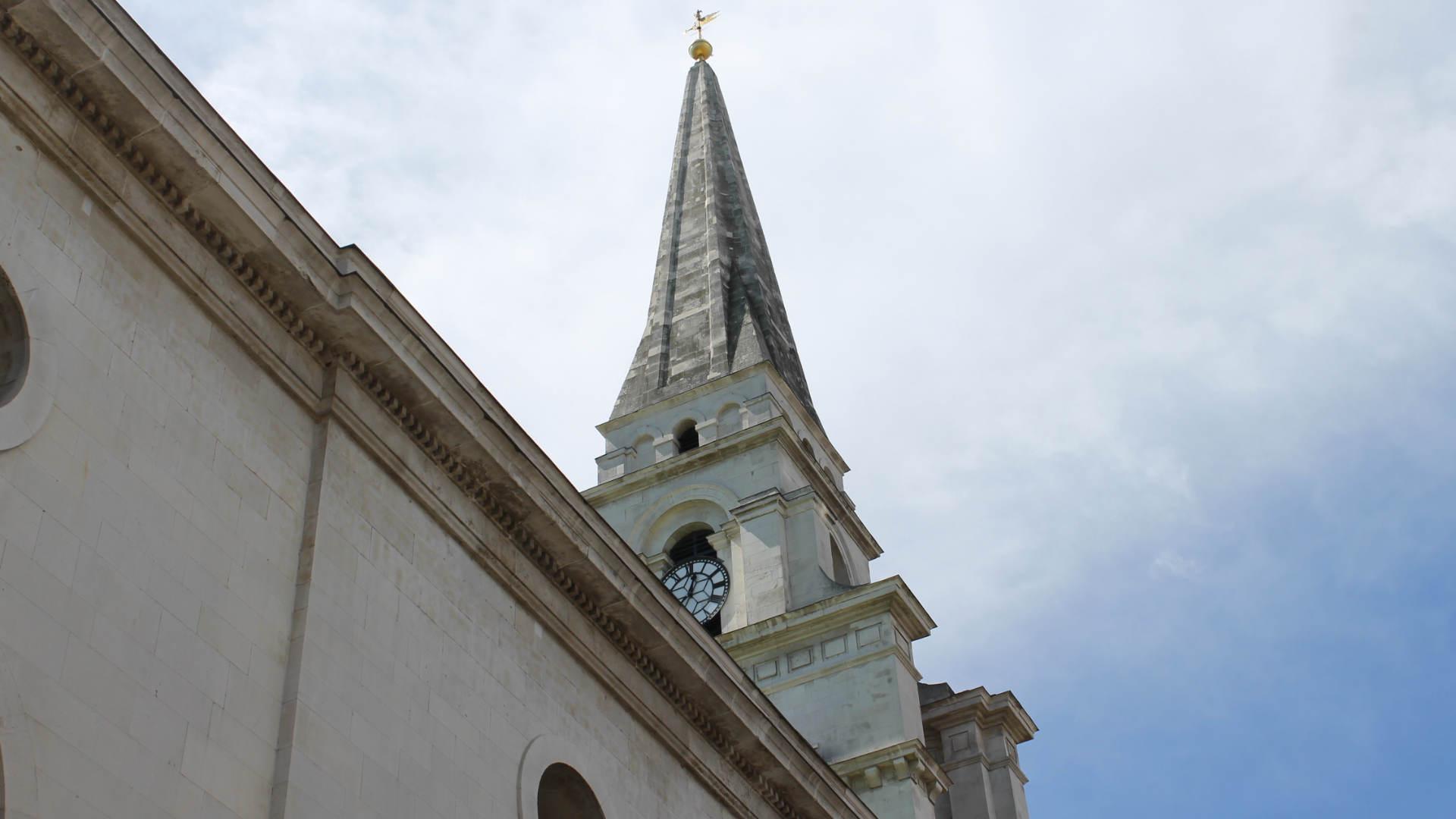 Christ Church Spitalfields Huguenot Walking Tours