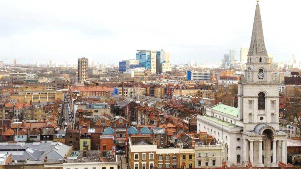 Christ Church Spitalfields Image copyright philip butler 2013