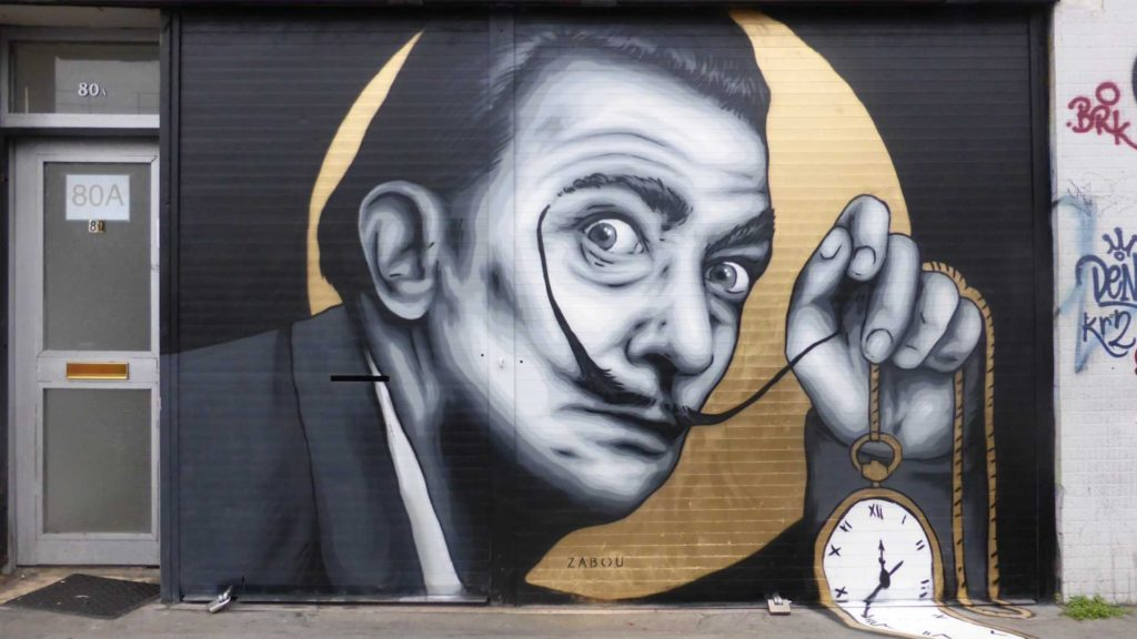 City of London Guided Walking Tour - Street Art Dali