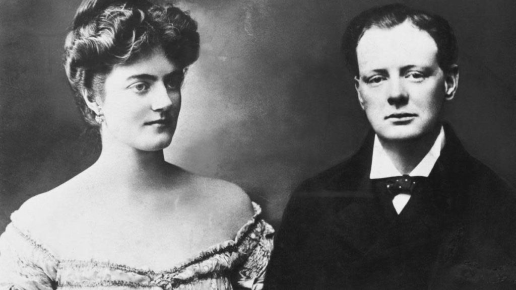 Clementine Crozier and Winston Churchill
