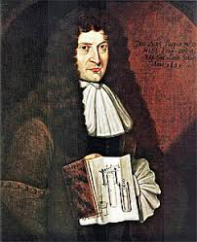 Denis Papin 1647-1712 - inventor, physicist and mathematician
