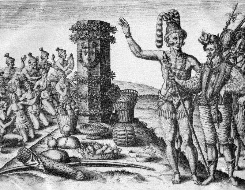 Florida worship french column 1591
