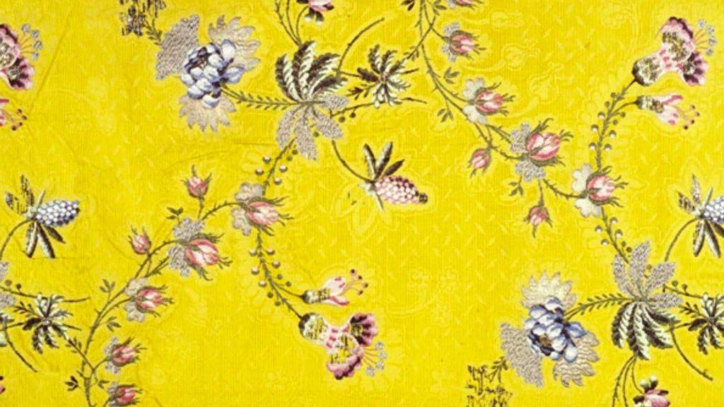 Garthwaite silk. Image courtest of the Museum of London