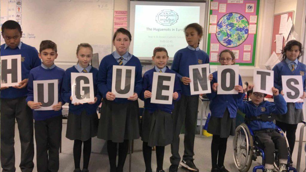 Huguenot Learning - Meet the Huguenots Primary School Programme
