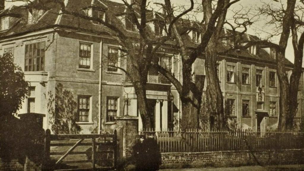 King Edward VI Free Grammar School Bury St Edmunds c1880