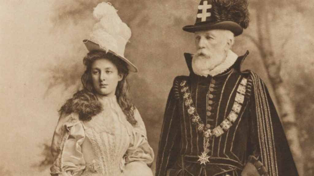Les Huguenots - Image courtesy of National Portrait Gallery - London