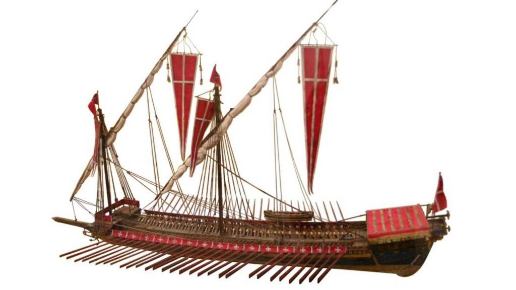 Louis XIVs galley ship