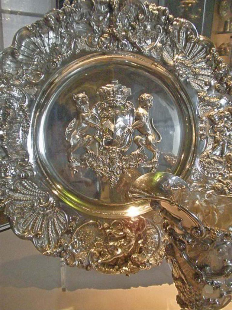 Paul Lamerie silver Shield