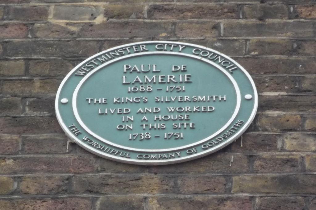 Paul de Lamerie Plaque