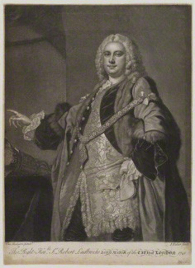 Sir Robert Ladbroke by John Faber Jr