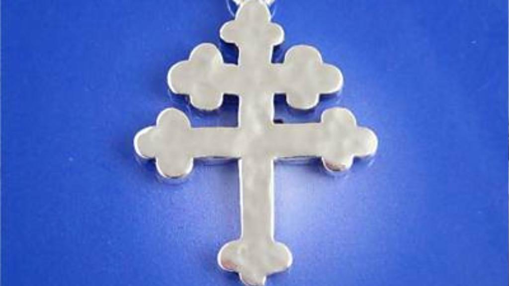 Silver Cross of Lorraine