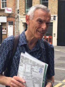 Spitalfields Walking Tour Guide - Paul Baker
