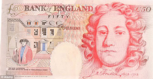 fifty Pounds Note