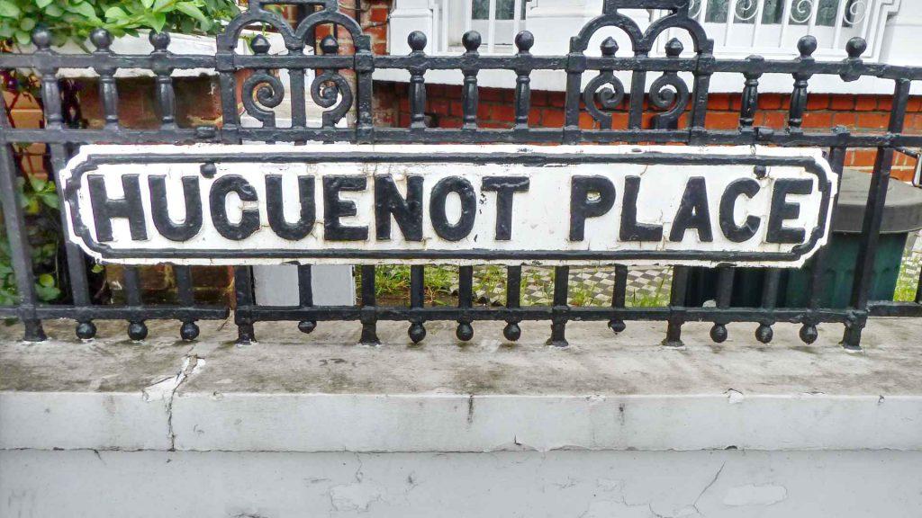 huguenot of spitalfields street names