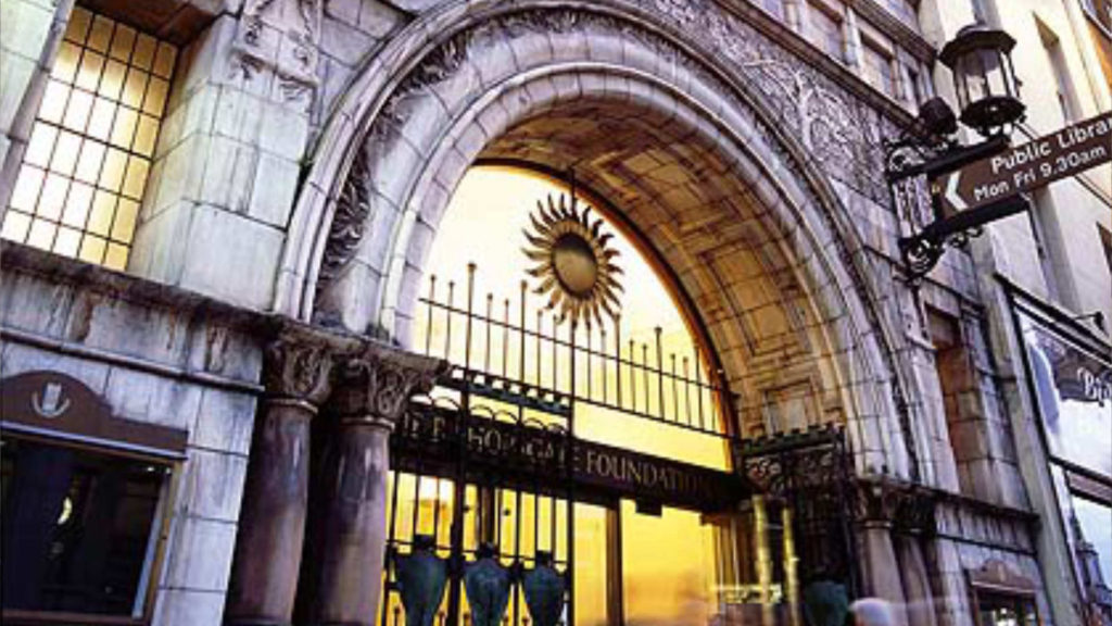 places to visit - Bishopsgate Institure