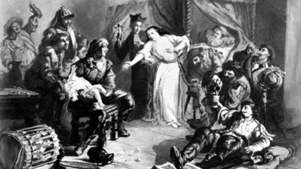 the persecution of the huguenot - dragonnades